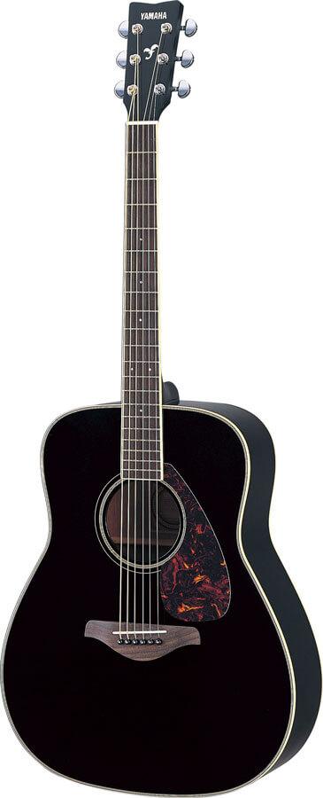Guitarra Acústica Yamaha Fg720S Black