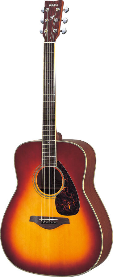 Guitarra Acústica Yamaha Fg720S Brown Sb