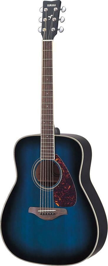 Guitarra Acústica Yamaha Fg720S Oriental Blue Burst