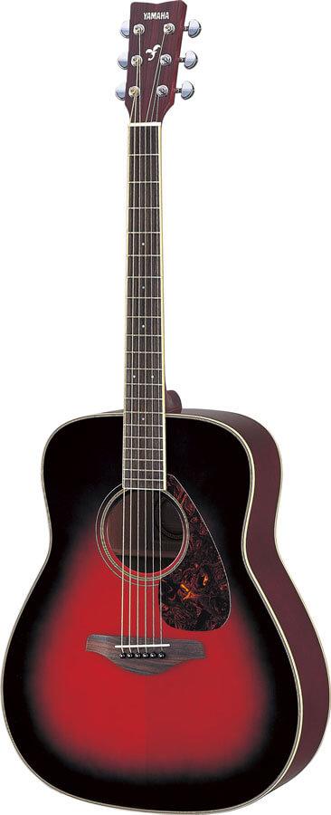 Guitarra Acústica Yamaha Fg720S Dusk Sun Red