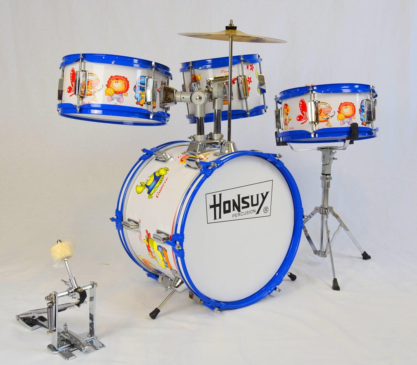 Batería Infantil Honsuy 10805 4 Piezas Dibujos