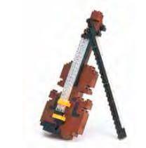 Puzzle Miniatura Violin 3D