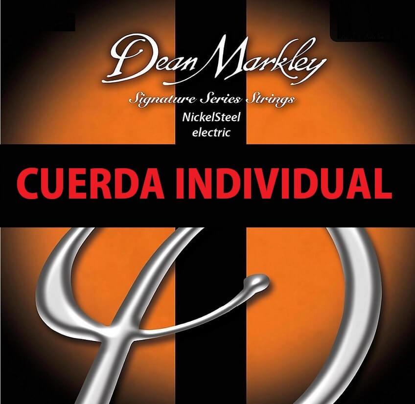 Cuerda Guitarra Eléctrica Dean Markley Nickel Steel 015