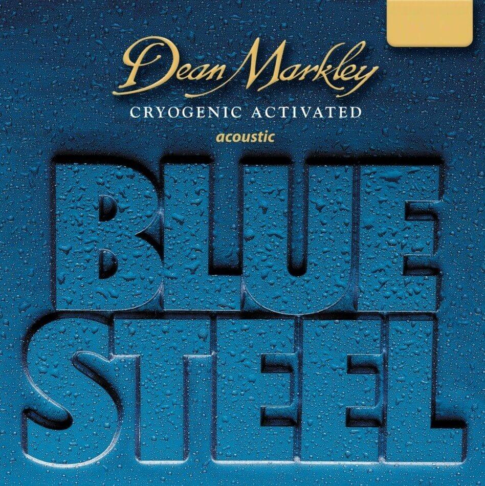 Jgo.Cuerdas Guitarra Acústica Dean Markley Blue Steel 12-55