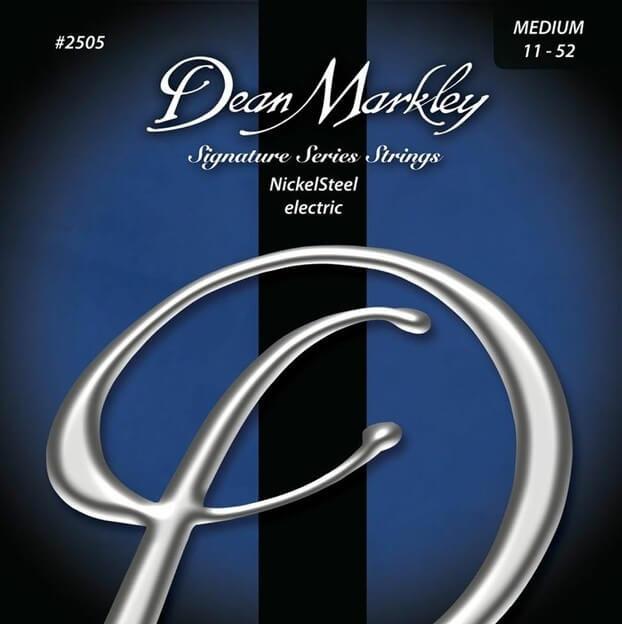 Jgo.Cuerdas Guitarra Eléctrica Dean Markley Nickel Steel 11-