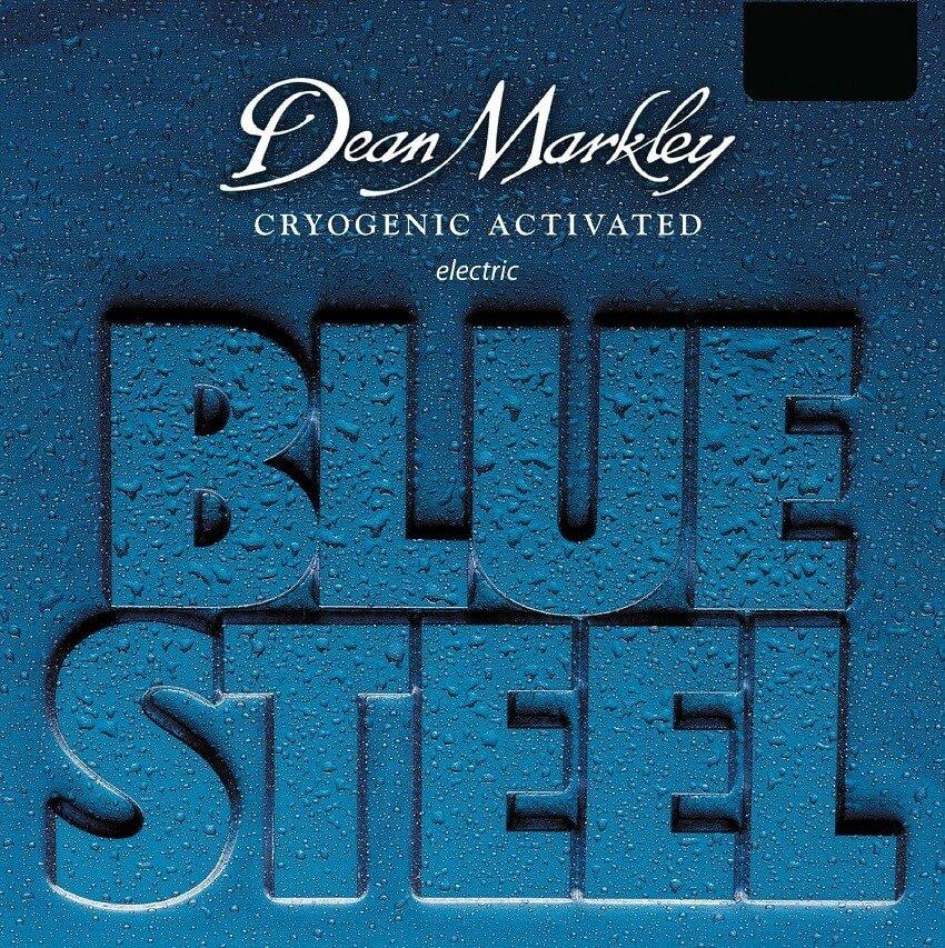 Jgo.Cuerdas Guitarra Eléctrica Dean Markley Blue Steel 09-46