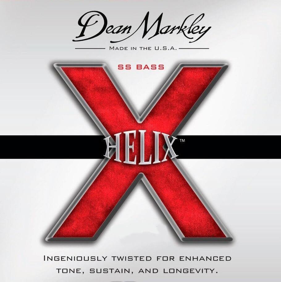Jgo.Cuerdas Bajo Eléctrico Dean Markley Helix 40-100