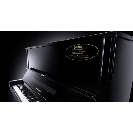 Piano Vertical Yamaha Yam2 U3 Certificado 131Cm. Negro pulido.