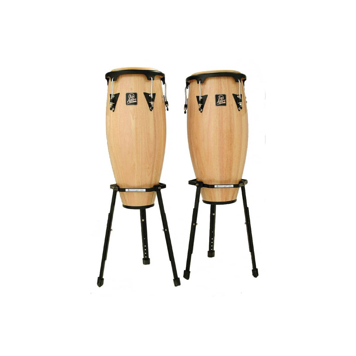 Set Congas Latin Percussion Lpa646B 10-11 Natural