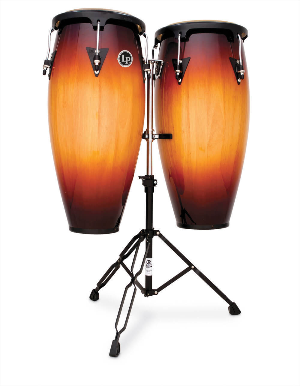 Set Congas Latin Percussion Lpa646 10-11 Vintage Sunburst
