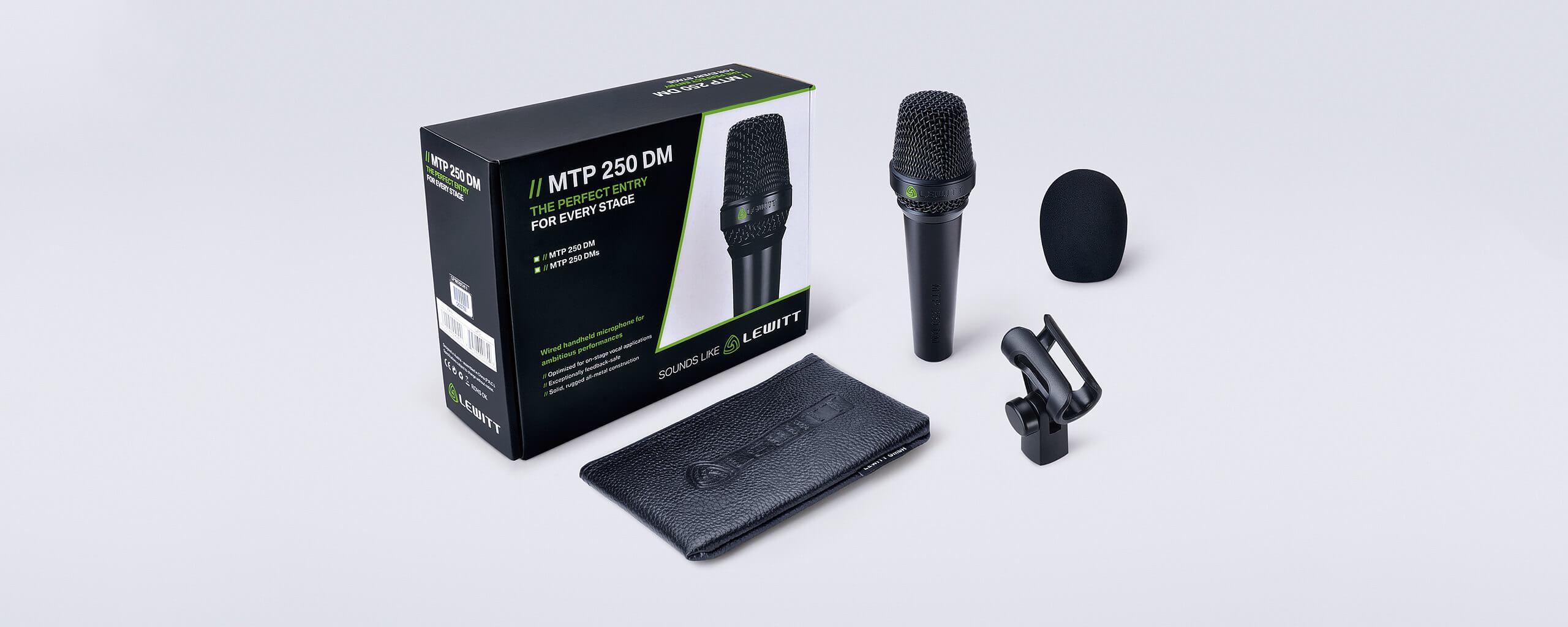 Microfono Lewitt Mtp250 Dm Live Series