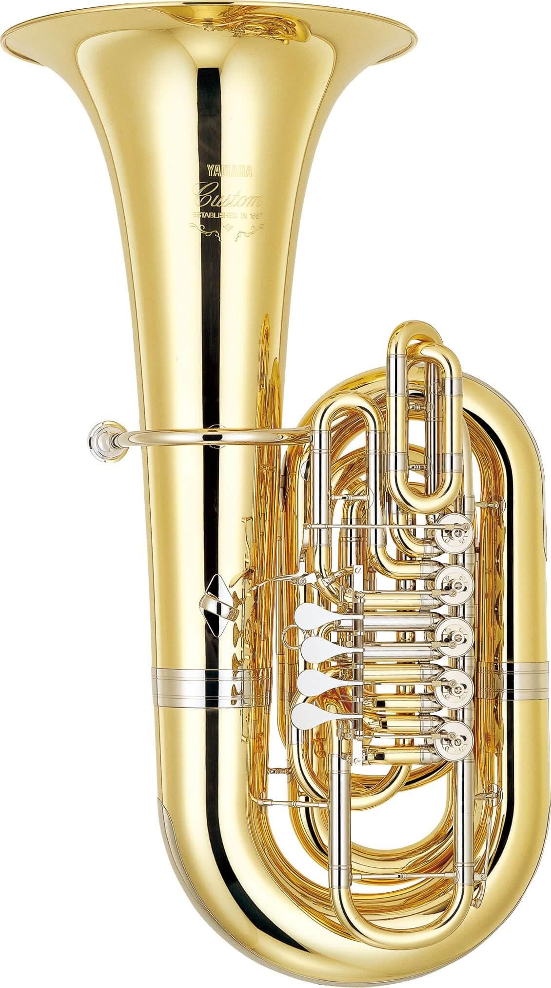 Tuba En Do Yamaha YCB-861 Lacada