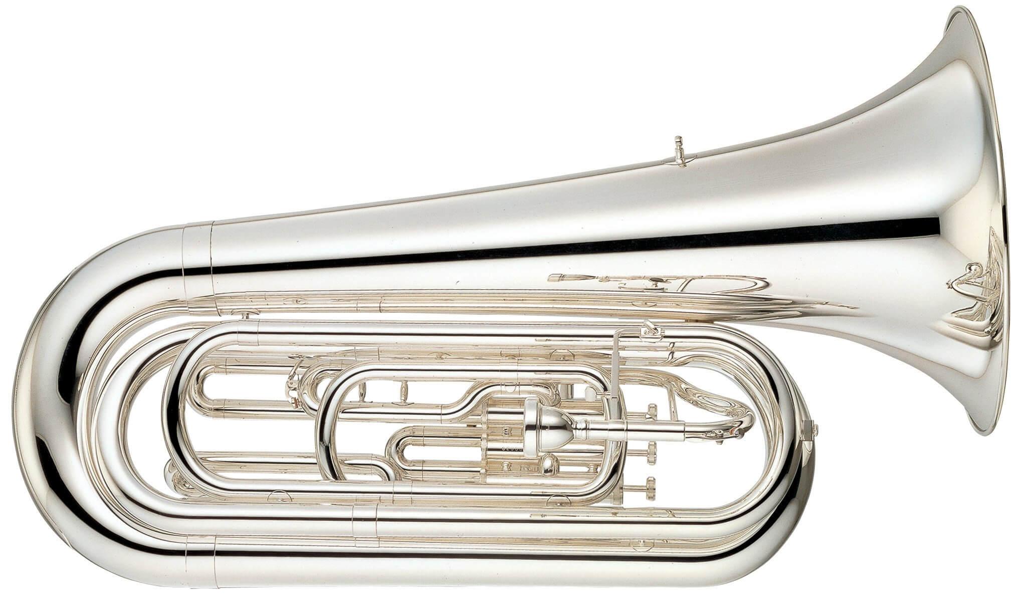 Tuba Yamaha YBB-105MS Plateada