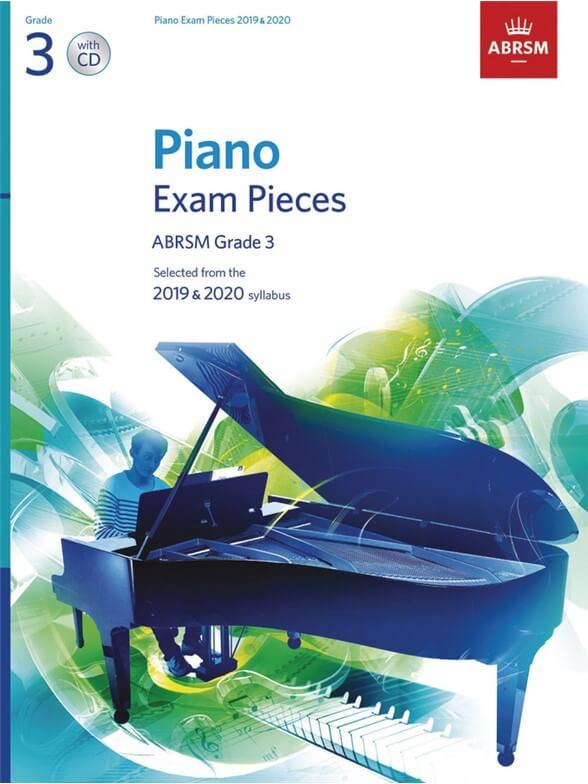 Selected Piano Exam Pieces:2019-2020 Grade 3 +CD