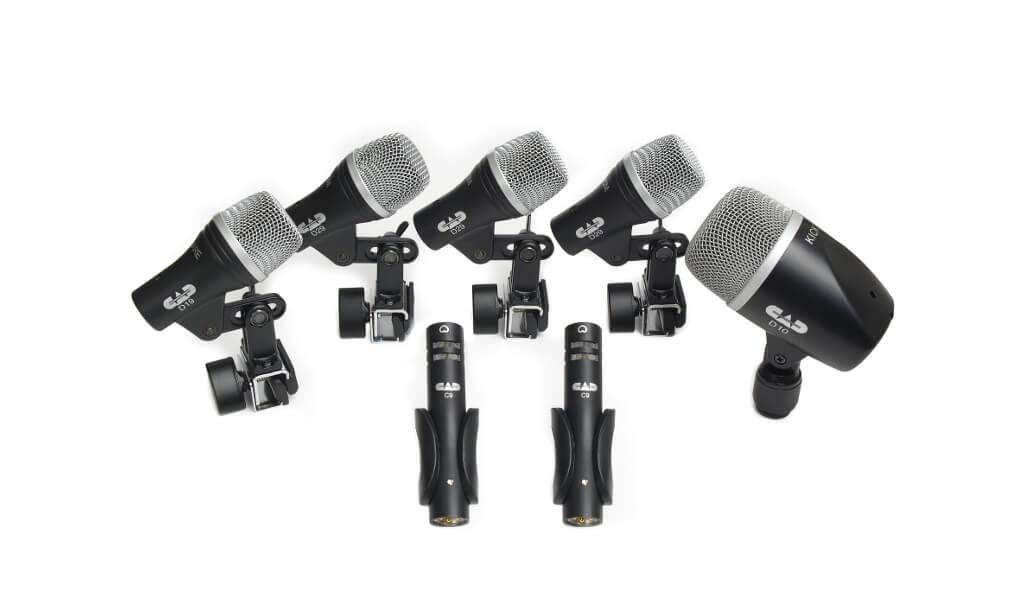 Audio Microfono Cad Stage 7 (Kit) Percusion