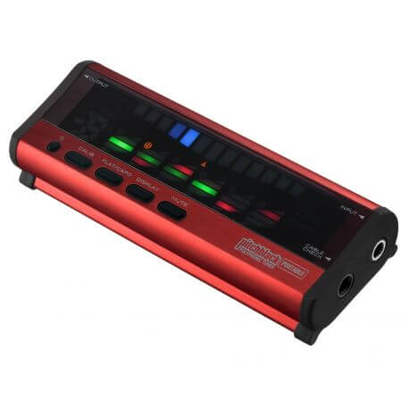 Afinador Korg Pitchblack Portable Red