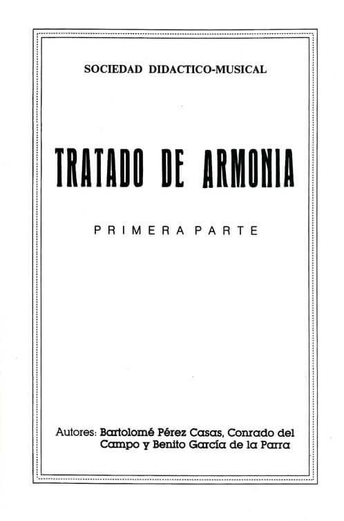 Tratado de Armonía Vol.1 SDM