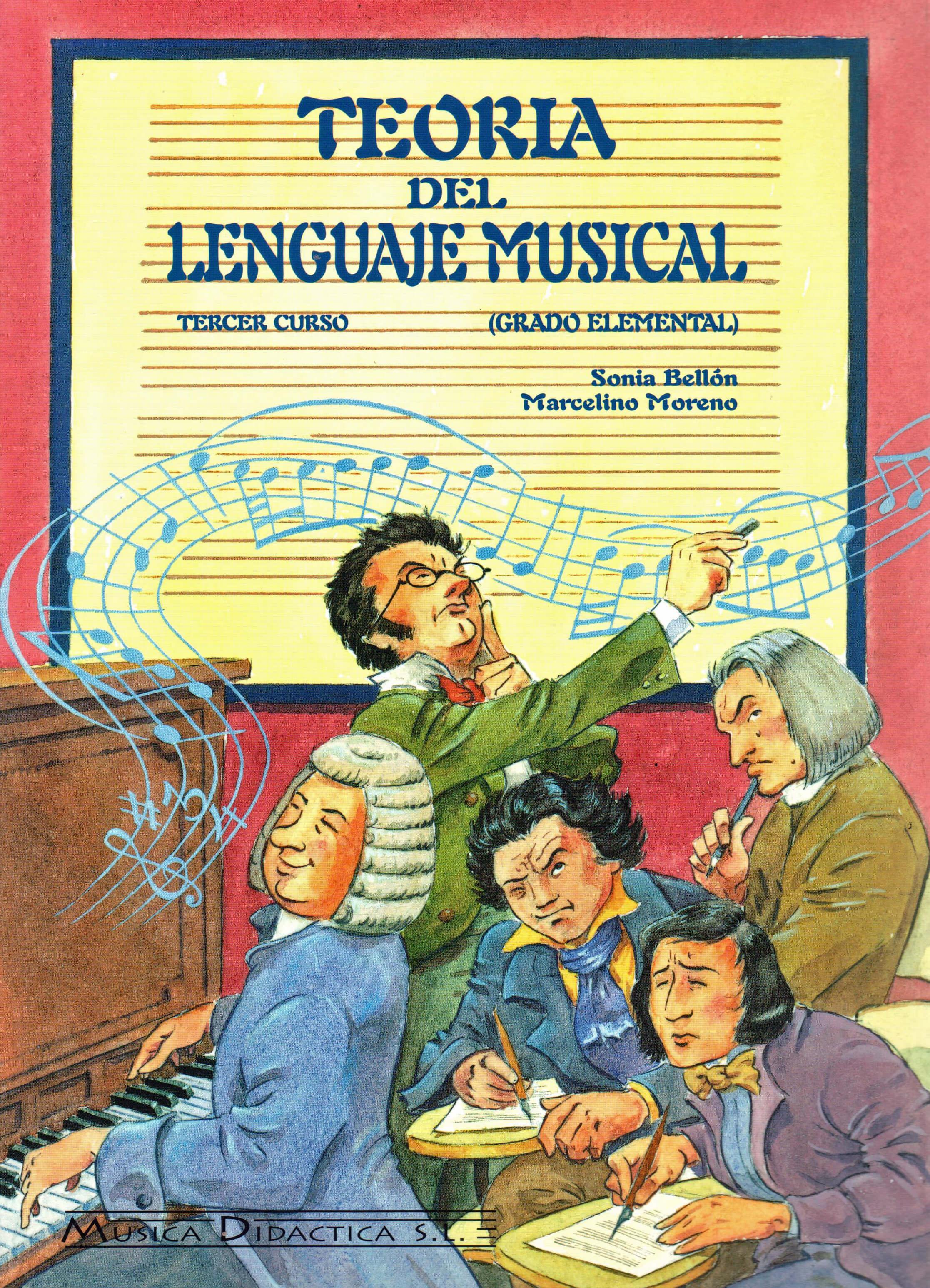 Teoria Del Lenguaje Musical Vol.3 Bellon/Moreno