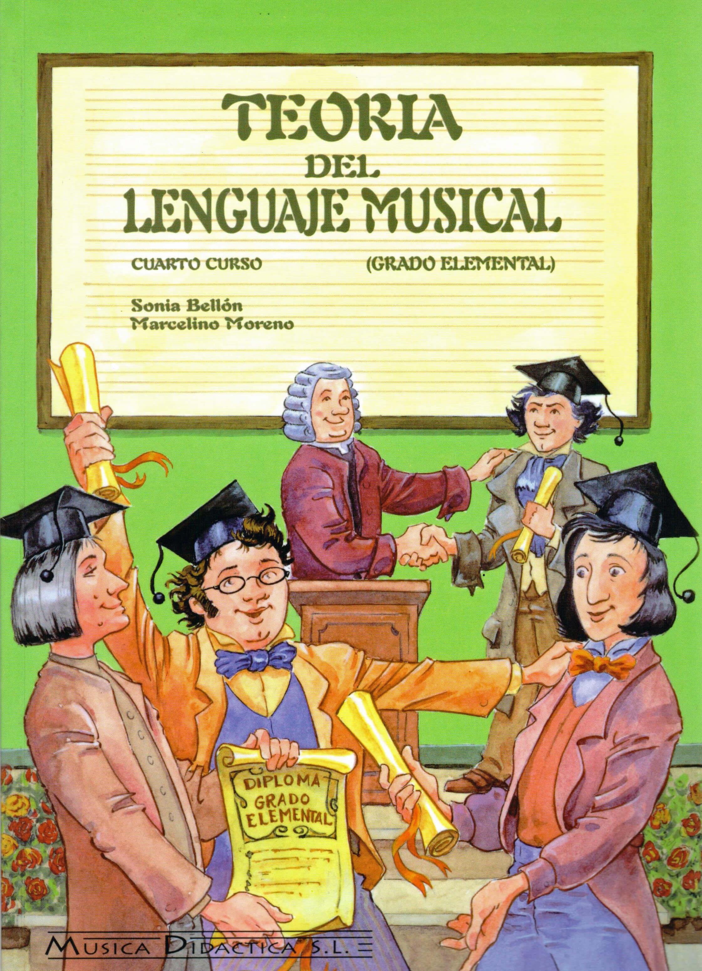 Teoria Del Lenguaje Musical Vol.4 Bellon/Moreno
