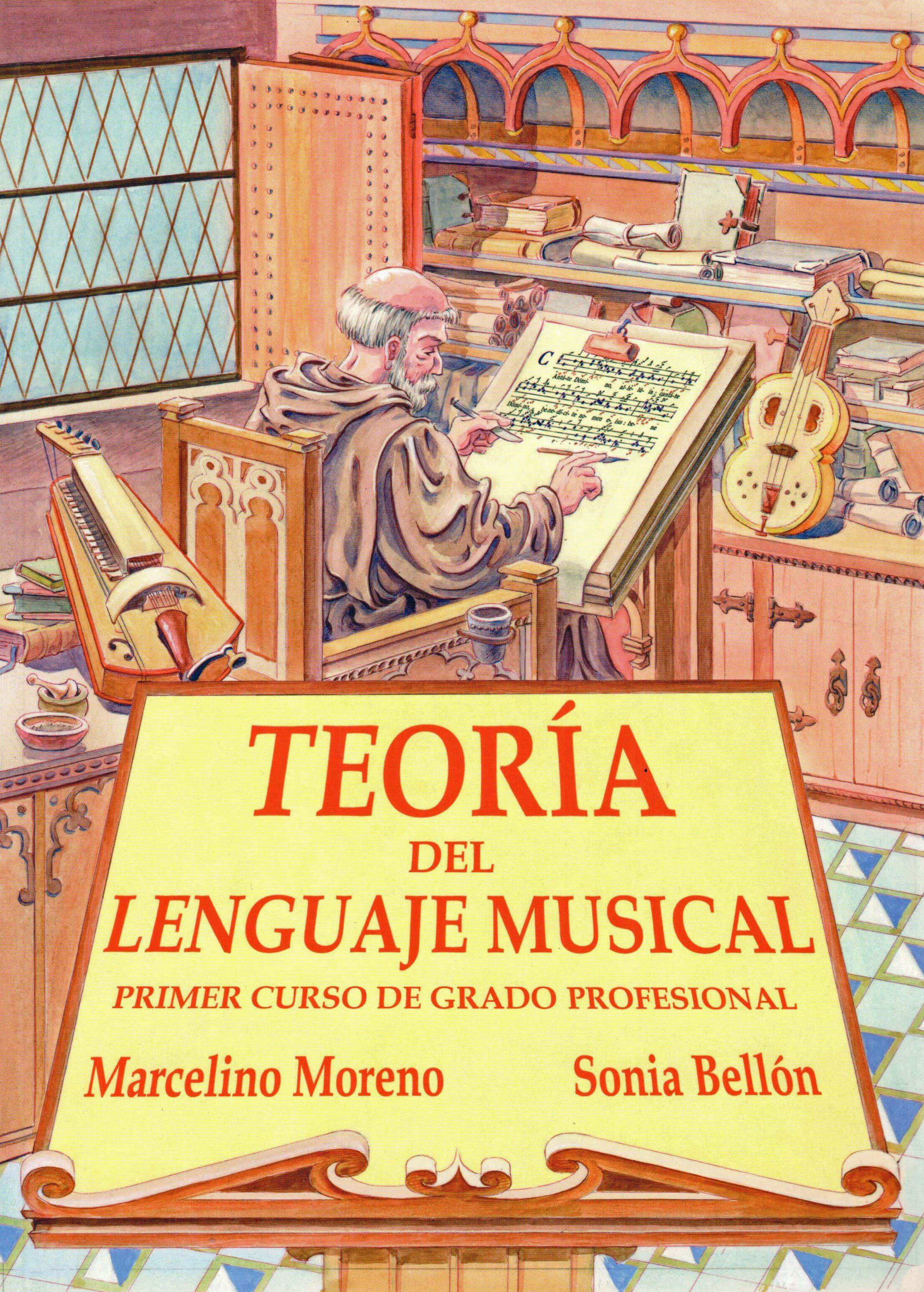 Teoria Del Lenguaje Musical Vol.1 Profesional Bellon/Moreno