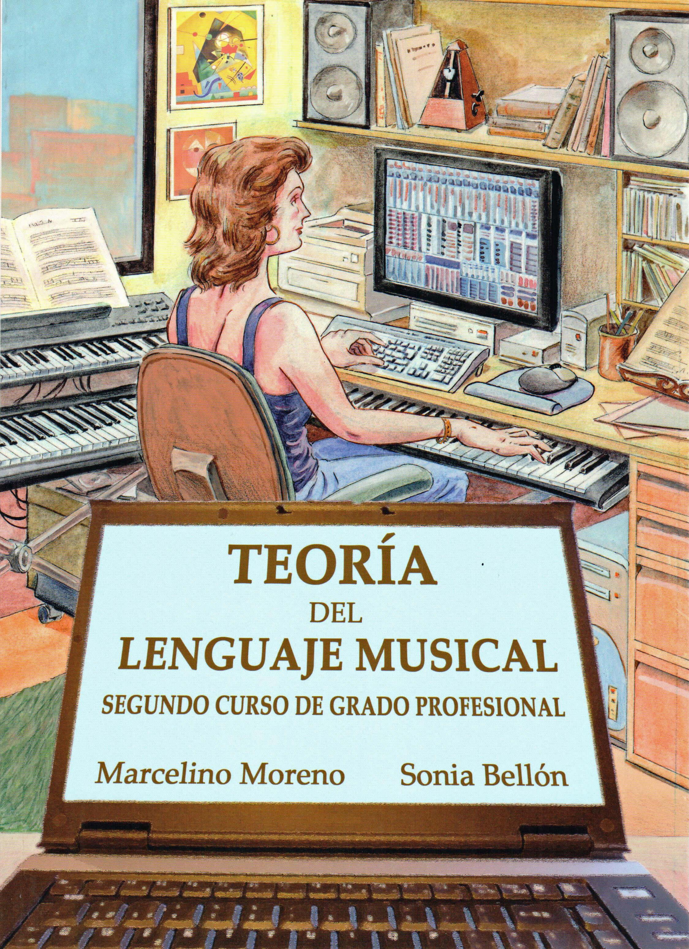 Teoria Del Lenguaje Musical Vol.2 Profesional Bellon/Moreno