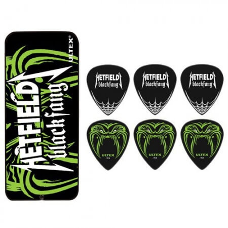 Bote 6 Púas Dunlop Hetfield 0,94Mm Black Fang
