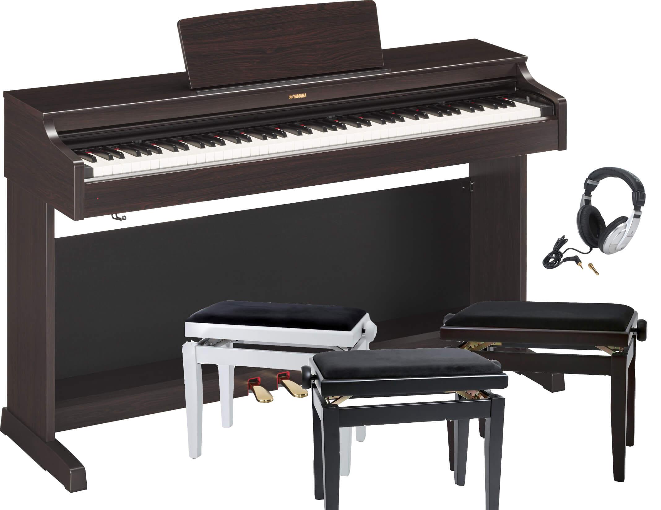 Pack Piano Digital Yamaha YDP-163 con banqueta y auriculares