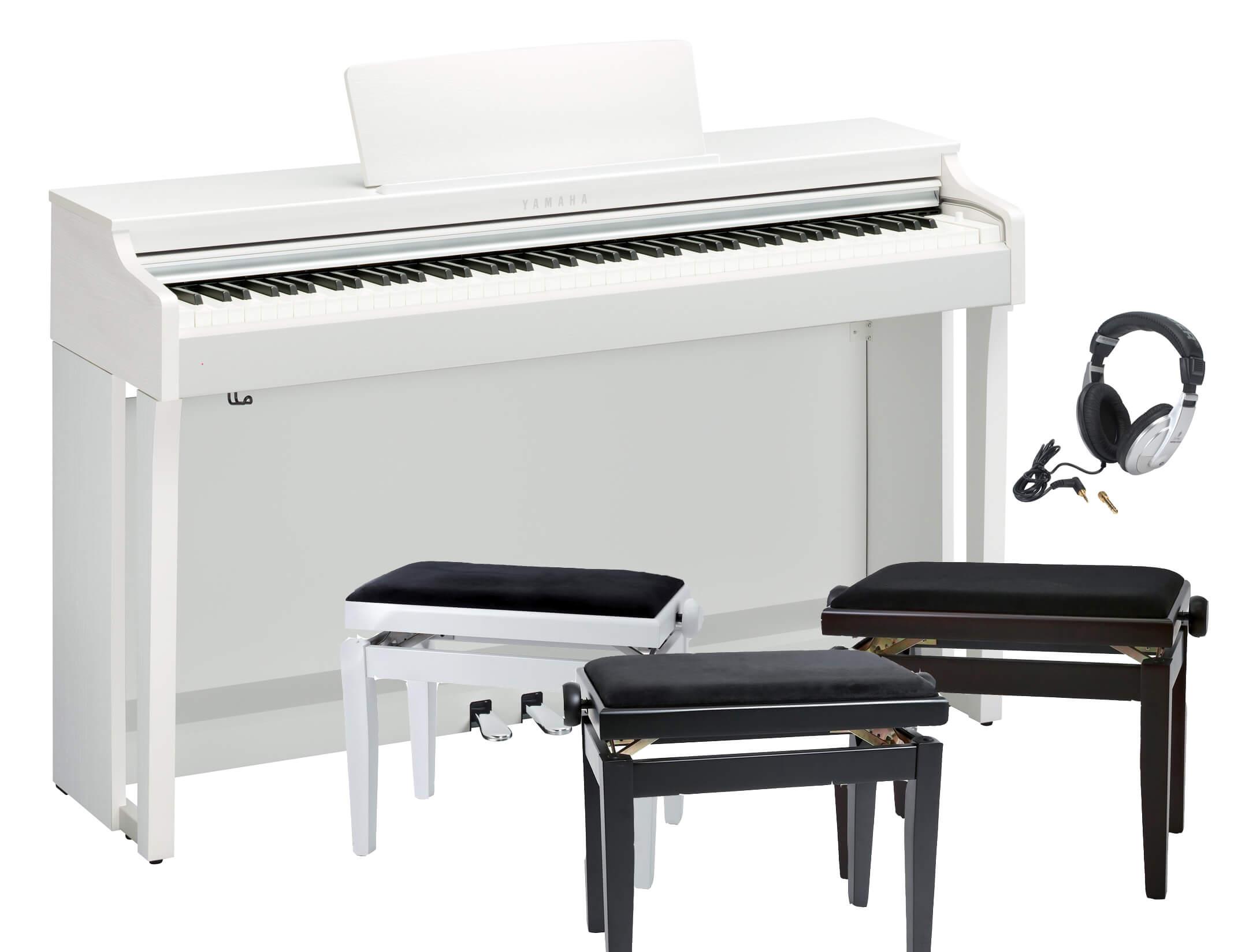 Pack Piano Digital Yamaha CLP-625 con banqueta y auriculares
