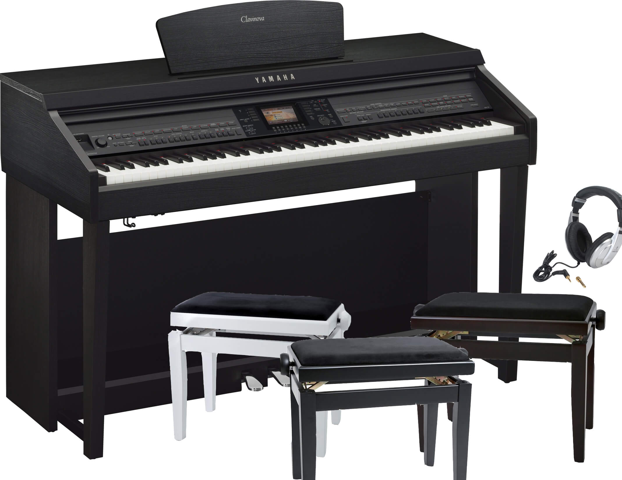 Pack Piano Digital Yamaha CVP-701