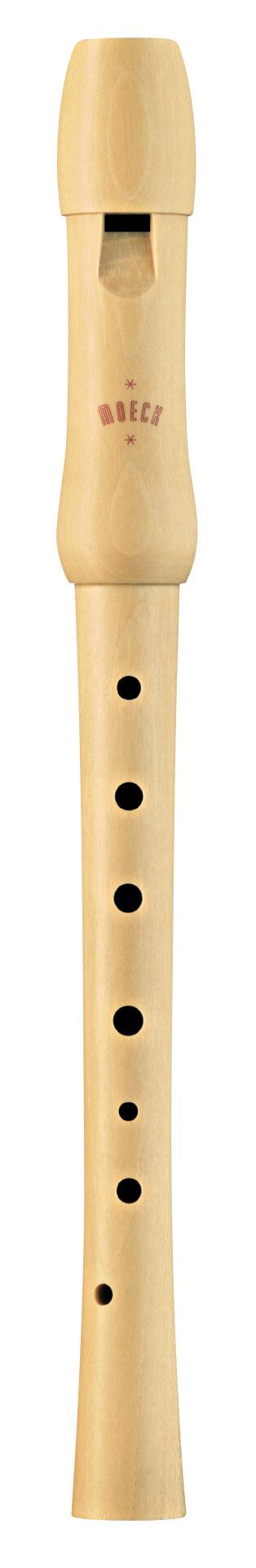 Flauta Soprano Alemana MoeckEscolar 1250 Arce