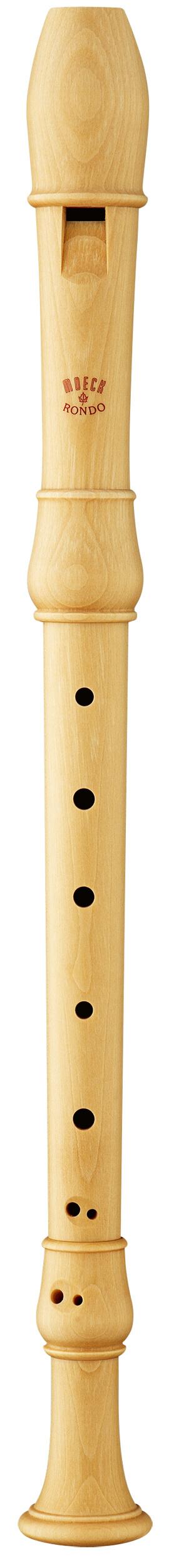 Flauta Soprano Barroca MoeckNew Rondo 2200 Arce