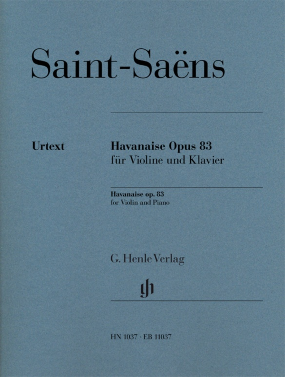 Havanaise Op.83 for Violin and  Piano. Violín y piano