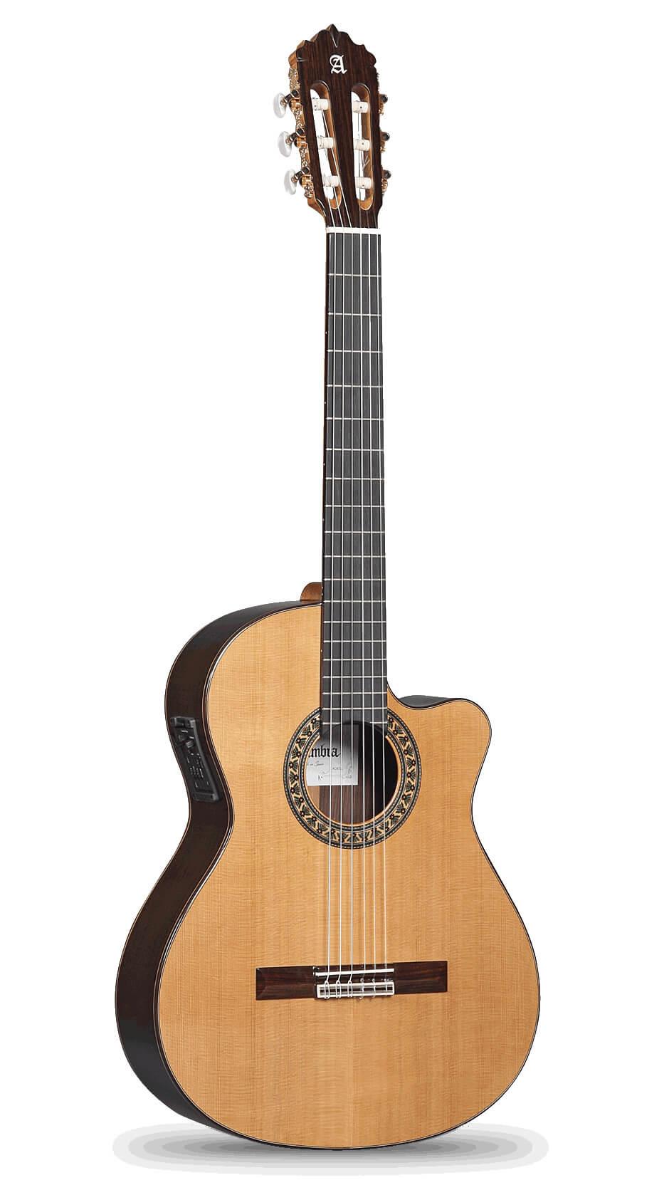 Guitarra Clasica Alhambra 5P Cw E2 Elect.