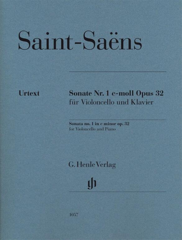 Sonata no. 1 in c minor Op.32 for Violoncello and  Piano. Vi