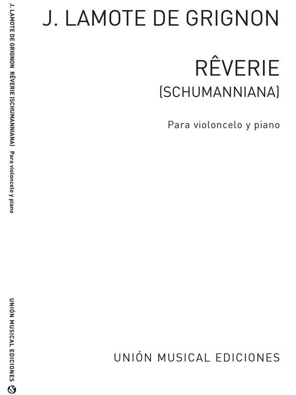 Reverie For Cello And Piano