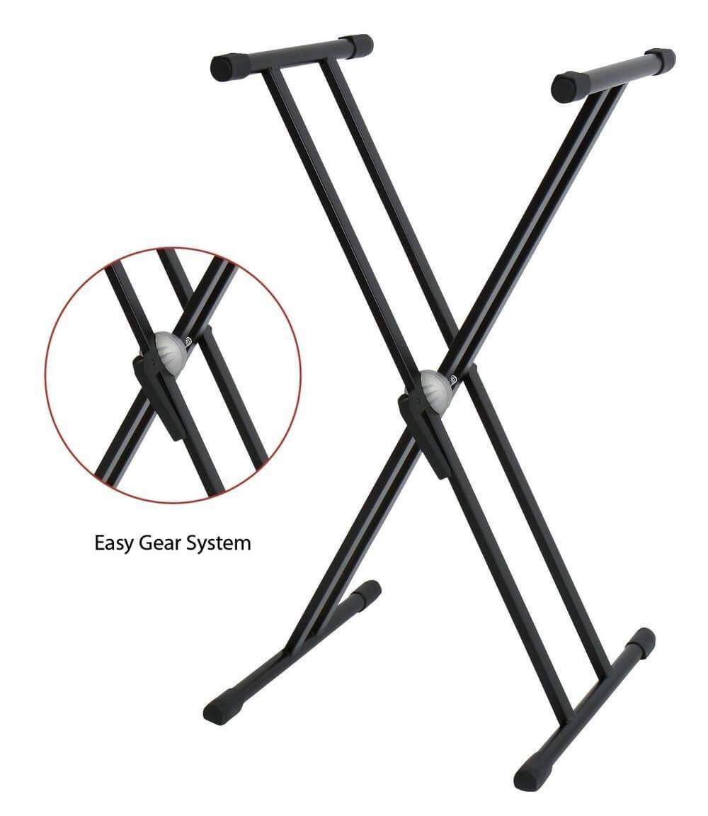 Soporte Teclado Gewa Doble Easy Gear 900553