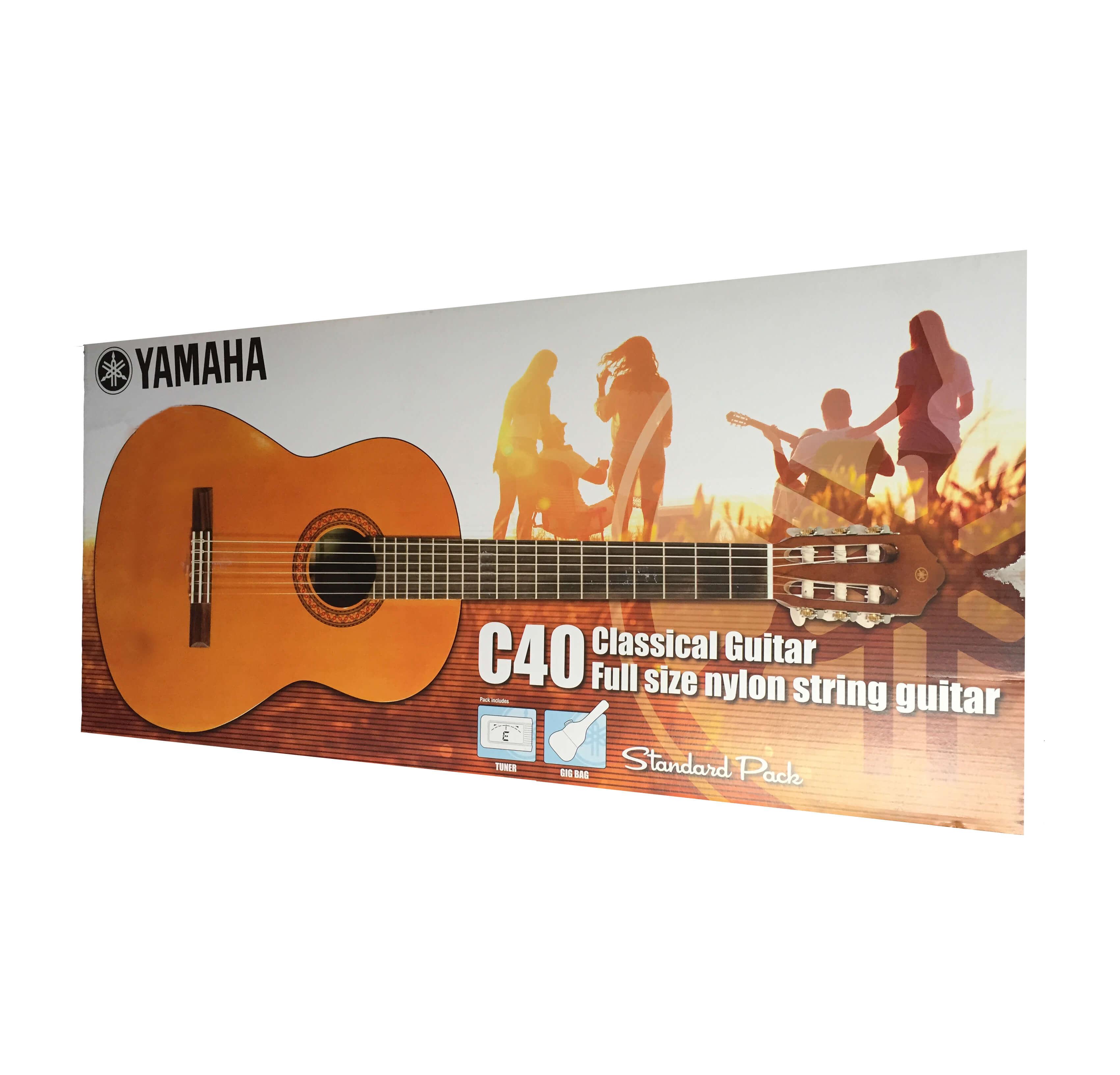 Pack Guitarra Clásica Yamaha C40 Package Standard