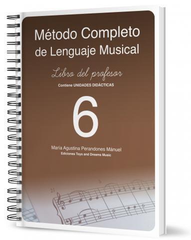 Método completo del lenguaje musical 6 Profesor .Perandones