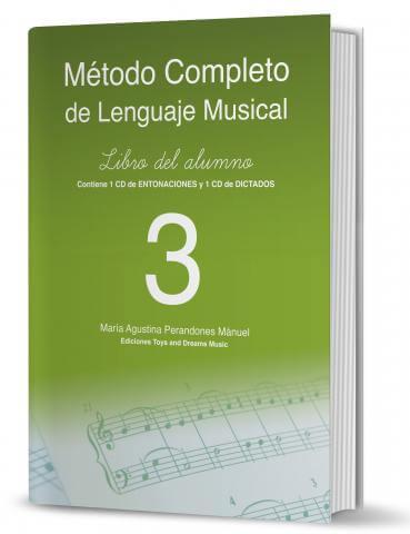 Metodo Completo De Lenguaje Musical 3º +CD .Perandones