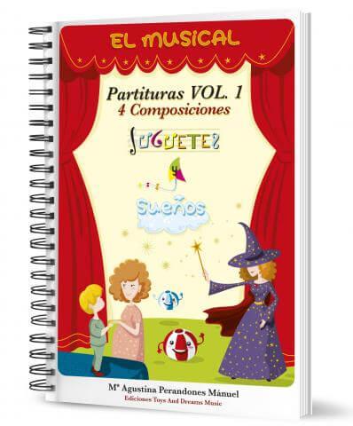El Musical. Juguetes Y Sueños Vol.1 (Libro)