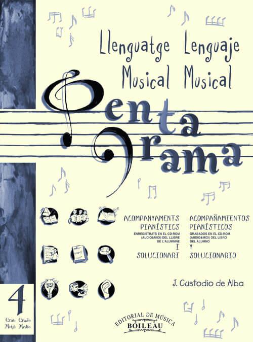 Pentagrama IV Llenguatge/Lenguaje Acomp. Piano Ele