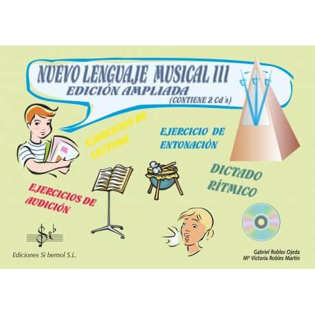 Nuevo Lenguaje Musical Vol.3 +CD