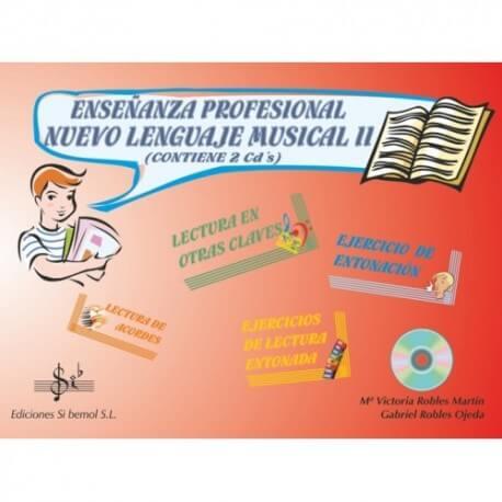 Nuevo Lenguaje Musical Vol.2 Grado Profesional +CD