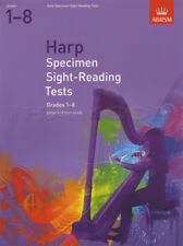 Specimen Sight-Reading For Harp 1-8 (Arpa)