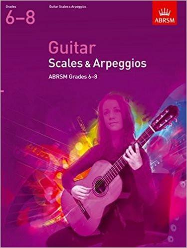Guitar Scales and Arpeggios, Grades 68