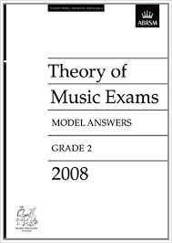 Theory of Music Exams, Grade 2, 2008
