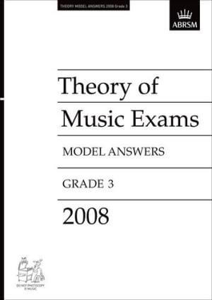 Theory of Music Exams, Grade 3, 2008