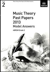 Music Theory Past Papers 2013 Model Answers