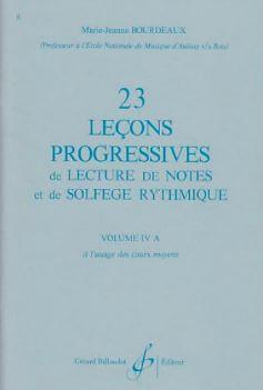 23 Lecons Progressives Vol.4 A