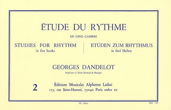 Etude du Rythme, Vol.2.Mesures composées